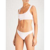 Frankies Bikinis Rosewater Pink Drew Bikini Top, Size: L