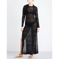 Melissa knitted crochet dress