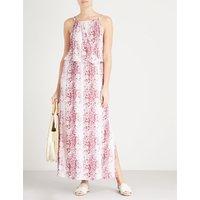 Monaco woven maxi dress