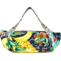 Call Me Carmen cotton-blend beach bag