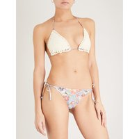 Lovelorn Crochet triangle bikini