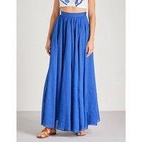 Arlene ramie maxi skirt