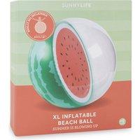 Sunnylife Extra-large watermelon print beachball, Women's, Multi