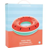 Sunnylife Inflatable Red Watermelon Pool Ring Float