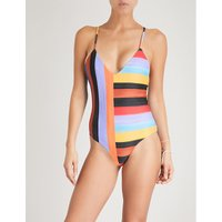 Emma striped swimsuit
