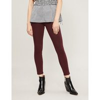 PAIGE | Verdugo Ankle skinny mid-rise jeans | Goxip