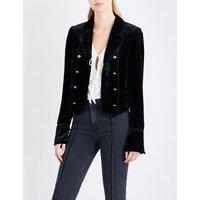 Maribel velvet jacket