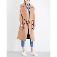 Burberry Ladies Camel Luxury Coat