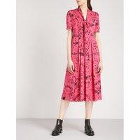 Antonina doodle silk dress
