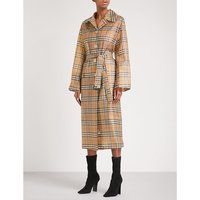 BURBERRY | Vintage Check PVC trench coat | Goxip
