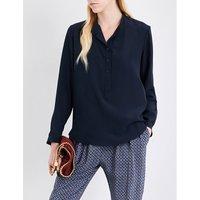 Stella Mccartney Eva silk shirt, Women's, Size: 12, Ink