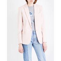 Stella Mccartney Ladies Rose Classic Ingrid Single-Breasted Wool Jacket, Size: 10