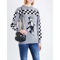Stella Mccartney Ladies The Dandy Wool Jumper, Size: 4