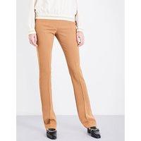 Stella Mccartney Ladies Jodi Slim-Fit Wool-Twill Trousers, Size: 4