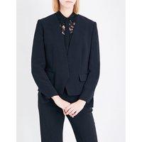 Stella Mccartney Ladies Black Valenta Crepe Jacket, Size: 4
