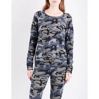 3003804 | Camo-print jersey sweatshirt | Goxip