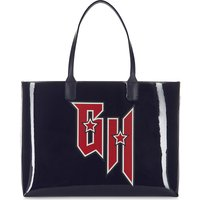 Tommy Hilfiger x Gigi Hadid patent leather tote