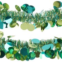 Paillette tinsel garland 2m