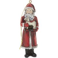 Father Christmas hanging decoration 10cm