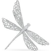 Glitter dragonfly decoration