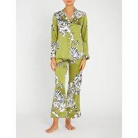 Lila Rora silk pyjama set