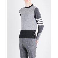Fun Mix knitted cashmere jumper