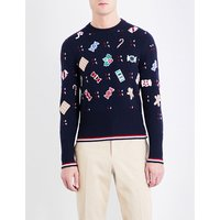 Holiday Candy wool jumper