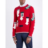 Holiday Stockings wool jumper