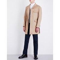 Chesterfield cotton-twill coat