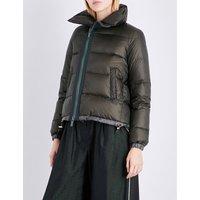 Padded shell puffer jacket