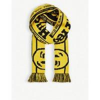 Reebok Free Hugs intarsia-knit scarf