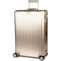 Rimowa Topas four-wheel titanium suitcase 78cm, Titanium