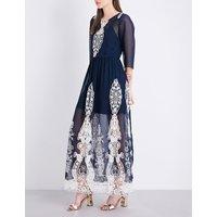 Aquinnah chiffon maxi dress