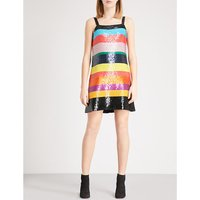 Bridget striped sequin dress