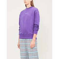 Violetta cotton-jersey sweatshirt