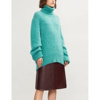 Turtleneck mohair-blend jumper