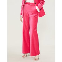 Cato wide-leg cotton trousers