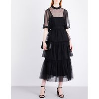 Abito lace and tulle dress