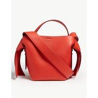Acne Studios Ladies Sharp Red Musubi Leather Shoulder Bag