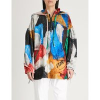 Vionnet x Marc Quinn printed cotton-towelling hoody