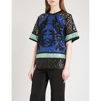 Sequinned-panel top