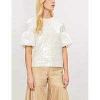Beau sequinned top