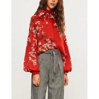 La Recoleta silk-chiffon blouse