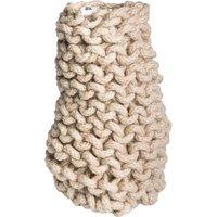 NONE Tribal crochet vase small