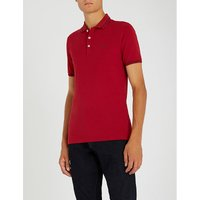Slim-fit stretch-cotton polo shirt