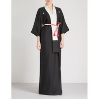 Black Beauty silk robe