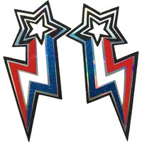 Stars From Mars double face sticker