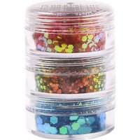Tropical Sunset Stack Glitter