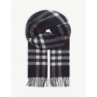 BURBERRY | Burberry Giant check cashmere scarf | Goxip