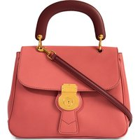 Burberry Trench leather crossbody tote, Women's, Blossom pink